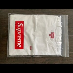 NEW Supreme SS white box logo T-shirt sz Md